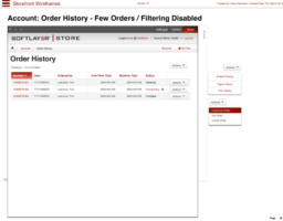 sf-30-Account-Order History - Few Orders Filtering Disabled