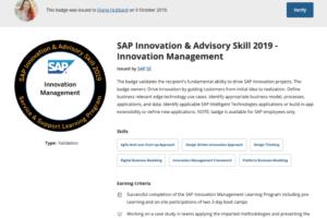 Innovation Management Badge