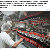 Business Insider - SAP and Coke