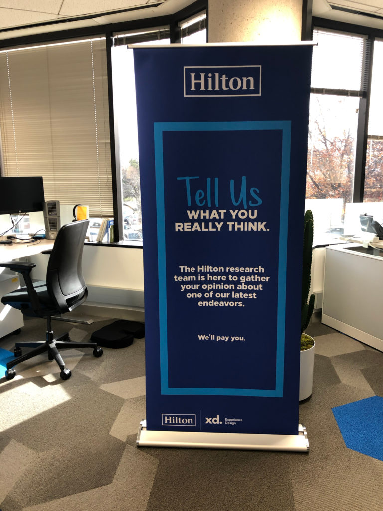 image of our Hilton research banner
